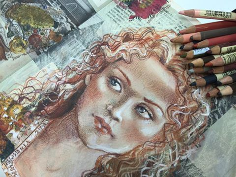 teckna med färgpennor